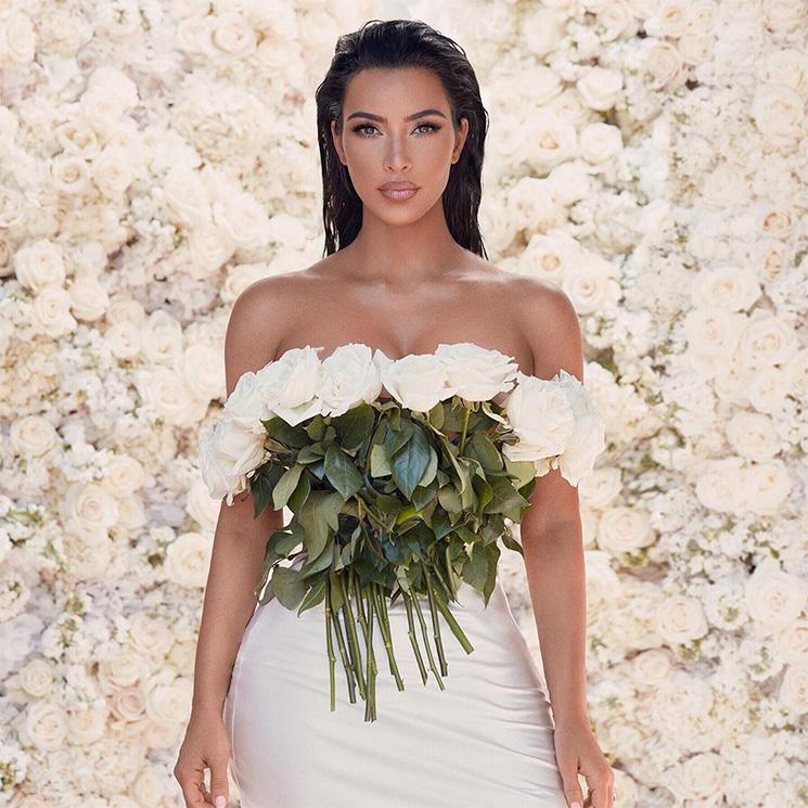 La razón por la que Kim Kardashian podría volver a casarse con el mismo vestido de novia