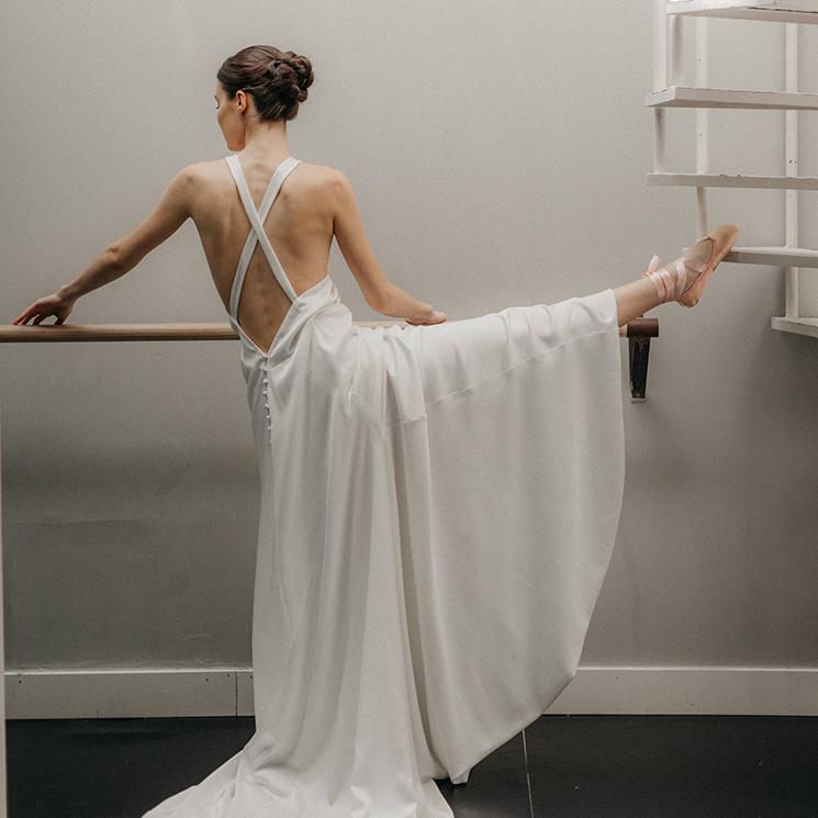 Vestidos bailarina, la tendencia de las novias más increíbles