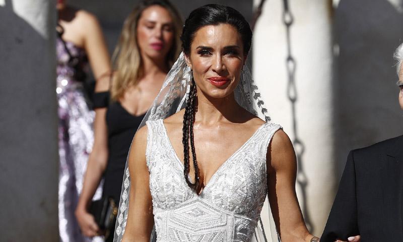 El vestido de Pilar Rubio: Todas las claves y los detalles de un look de novia inolvidable
