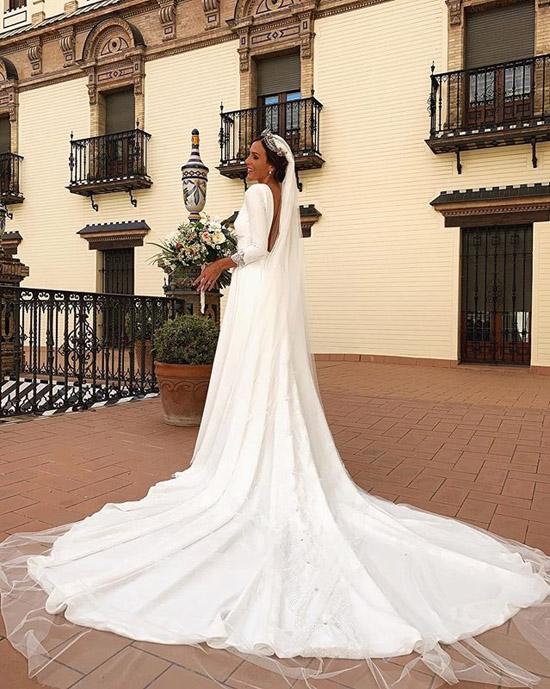 Rocío Osorno Se Casa En Sevilla Con Un Sofisticado Vestido