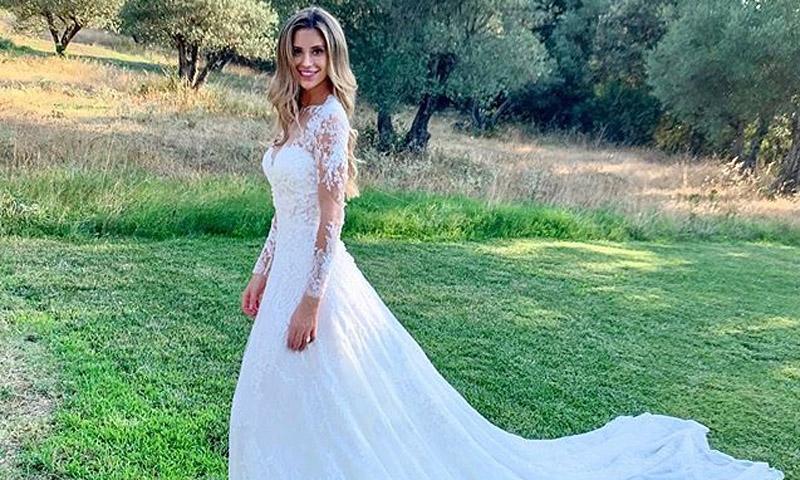 Cat McDonnell elige un vestido 'made in Spain' para su boda en Gerona con Pau Gasol