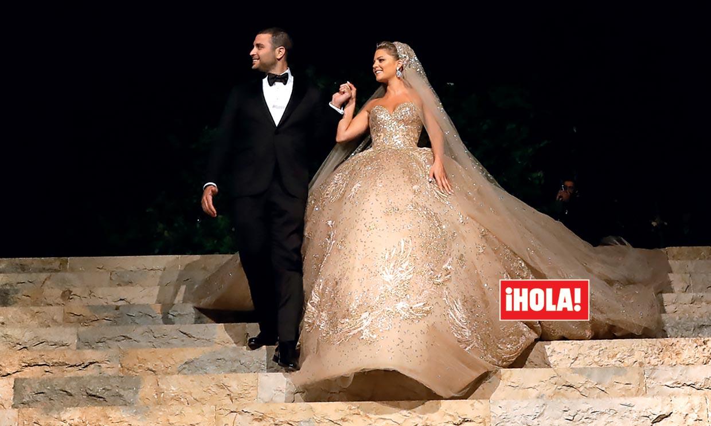 Exclusiva en ¡HOLA!, la boda de alta costura del hijo de Elie Saab