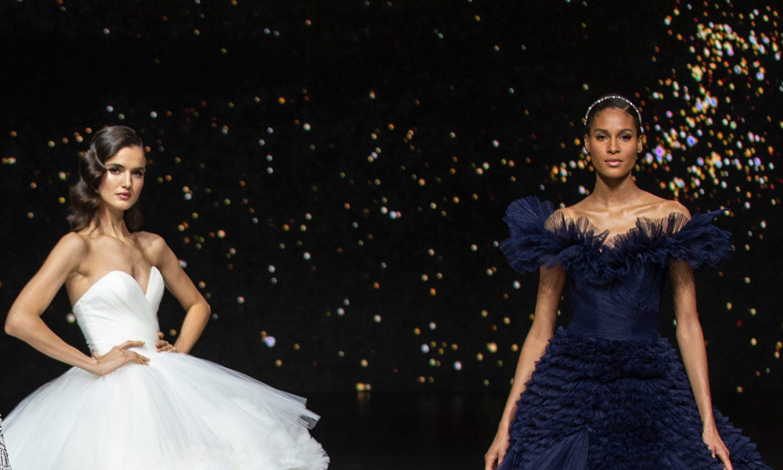 Naomi Campbell y otras modelos a las que has visto de novia, pero no han pasado por el altar