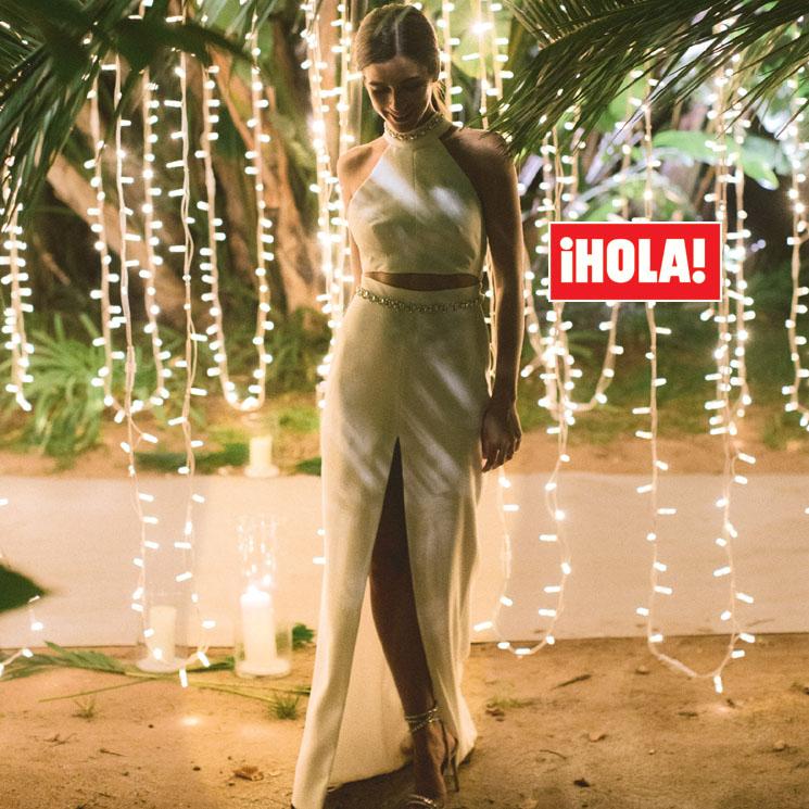 Desvelamos las fotografías de Sandra Gago con su segundo vestido de novia