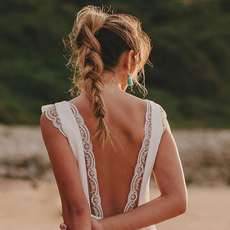 Di 'sí, quiero' a las trenzas, el peinado de las novias de entretiempo