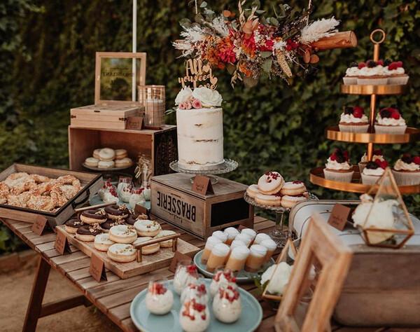Candy bar, el rincón preferido de los más golosos en las bodas ...