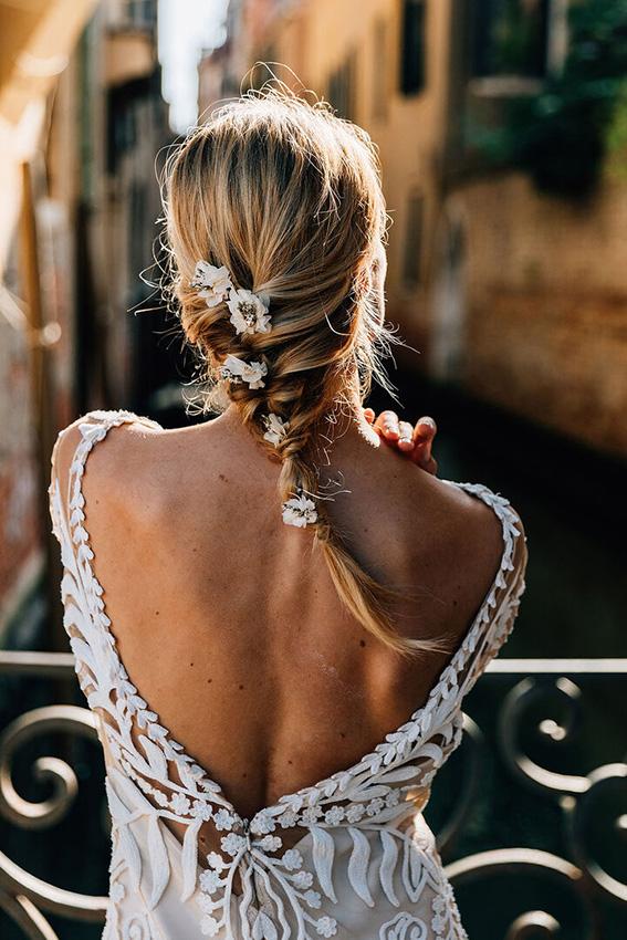 Bonito y sencillo peinados con trenzas para bodas Galería de tendencias de coloración del cabello - Peinados con trenzas, los diseños que triunfarán en las ...
