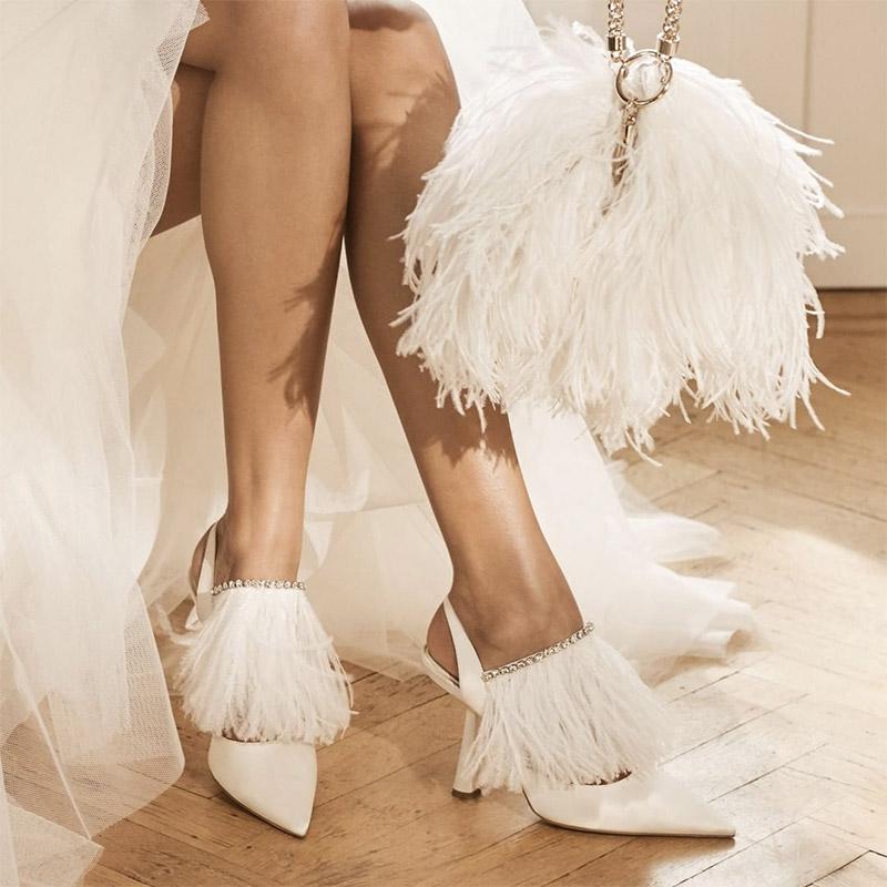 Zapatos de tacón cómodo para novias e invitadas Foto 1