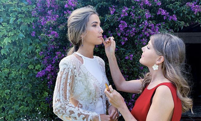 Así ha sido nuestro encuentro con Yael Maquieira en el que hemos hablado sobre maquillaje nupcial