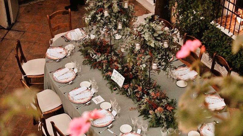 Catering y decoración de mesa 4
