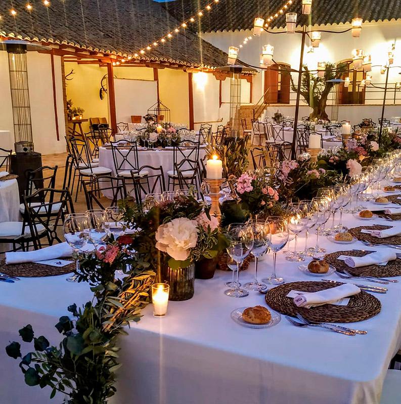 Catering y decoración de mesa 7