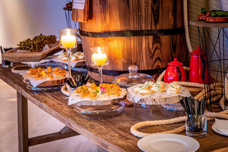 Catering y decoración de mesa 3