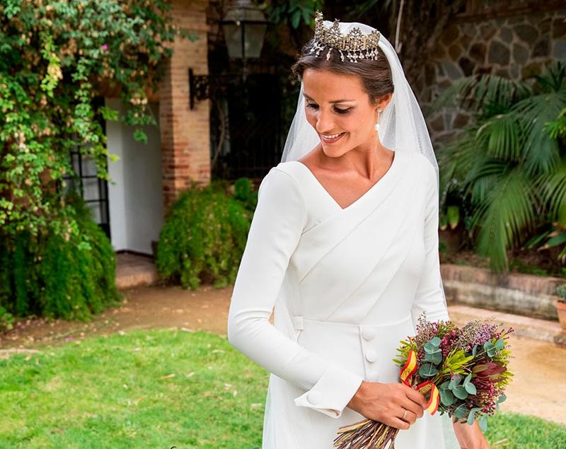 Ideas en la forma de atar tu ramo de novia 3