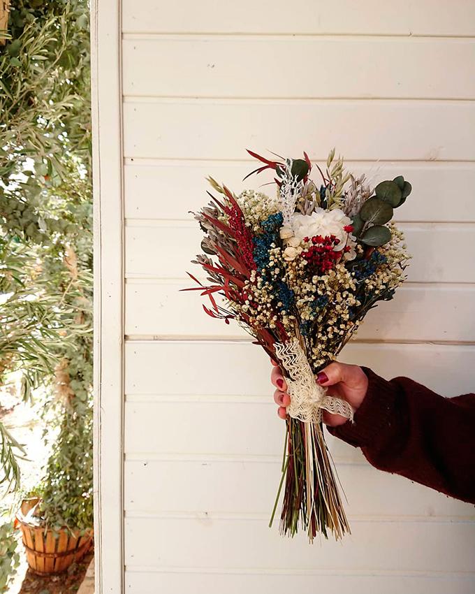 Ideas en la forma de atar tu ramo de novia 4