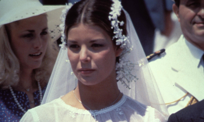 De Carolina de Mónaco a Carmen Ordoñez: los tocados de novia más icónicos