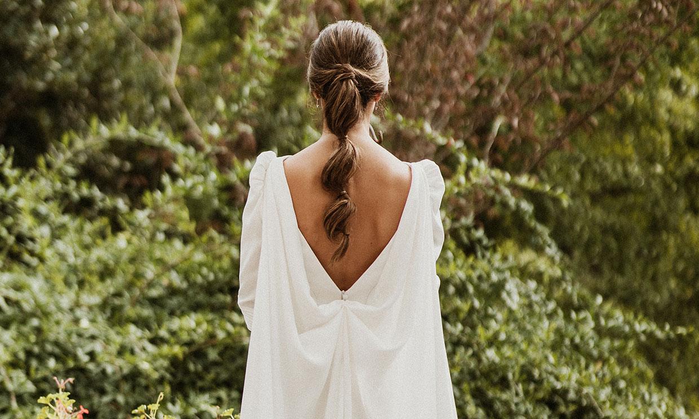 Fátima, la novia gallega del vestido desmontable