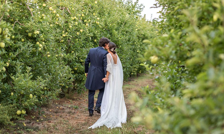Carolina, la novia que encontró su vestido perfecto solo un mes antes de la boda