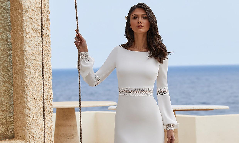 Sencillos y muy favorecedores: 9 vestidos de novia de Pronovias que te van a enamorar