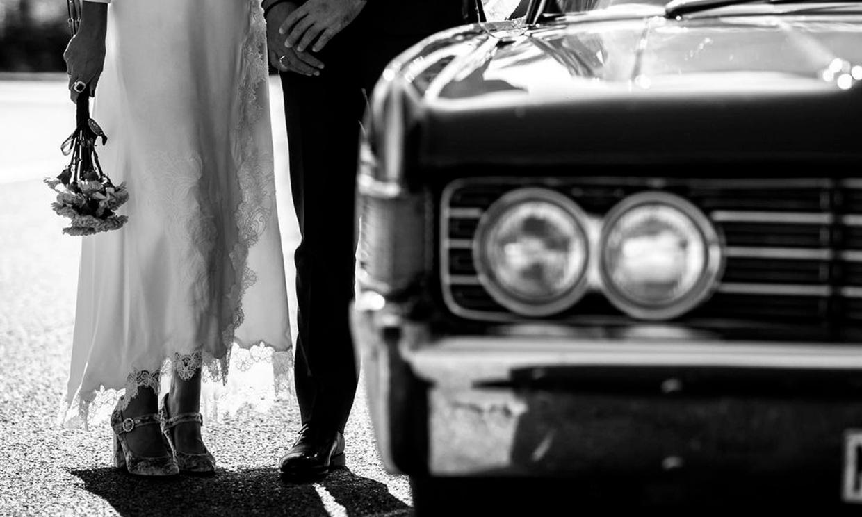 Largo tobillero, el vestido de las novias que triunfan en las redes