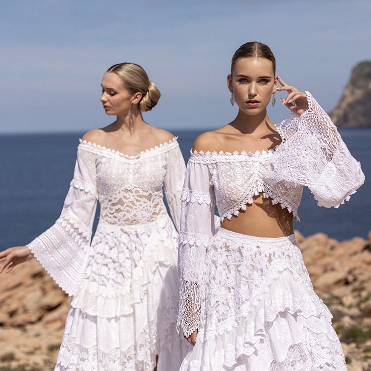 ¿Boda a la vista en 2021? Ibiza inspira los vestidos de novia más bonitos