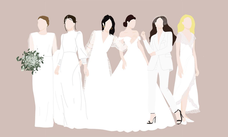 Sea cual sea tu estilo hay un vestido de novia para ti