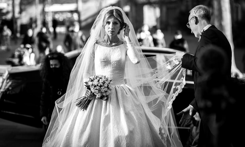 La boda de Xenia, la novia del vestido de Lorenzo Caprile de la que todos hablan