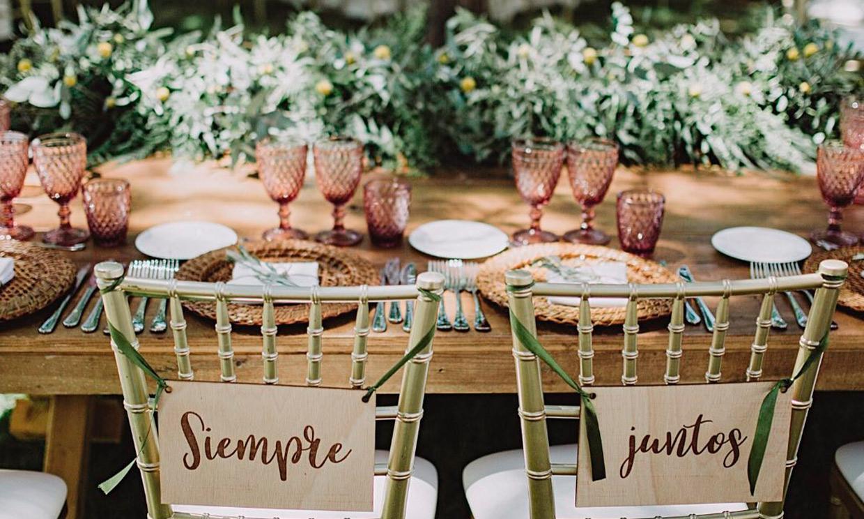 De las joyas al catering: todo lo que necesitas para organizar una boda sostenible