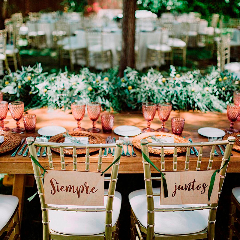 Wedding planner sostenible