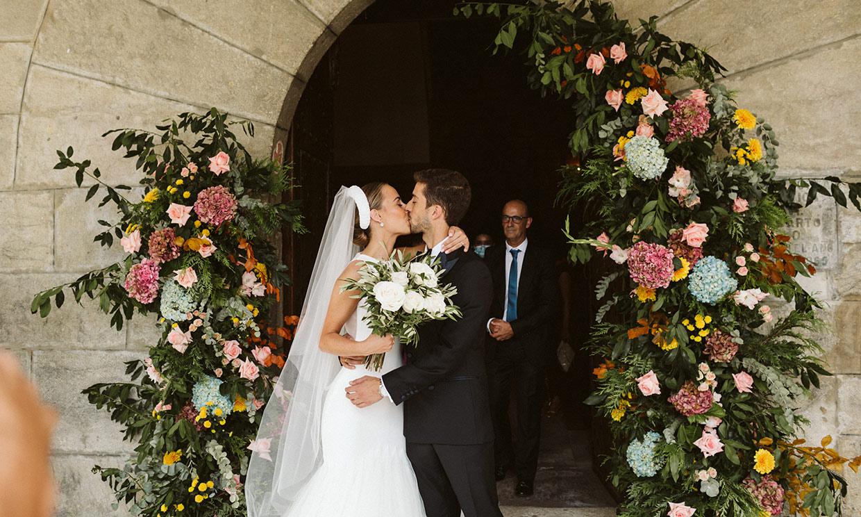 Amaia, la novia (y bailarina) del vestido de cuento y la historia de amor inesperada