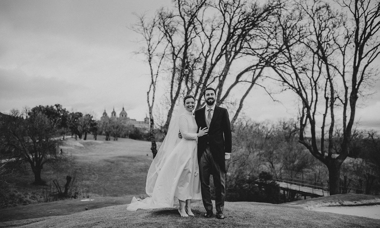 La boda de Ana, la novia médico que hizo magia con su vestido midi