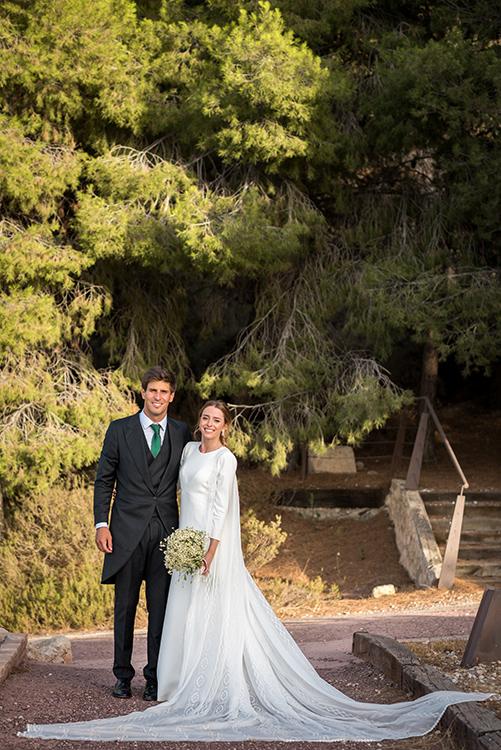 Una boda celebrada en verano de 2020