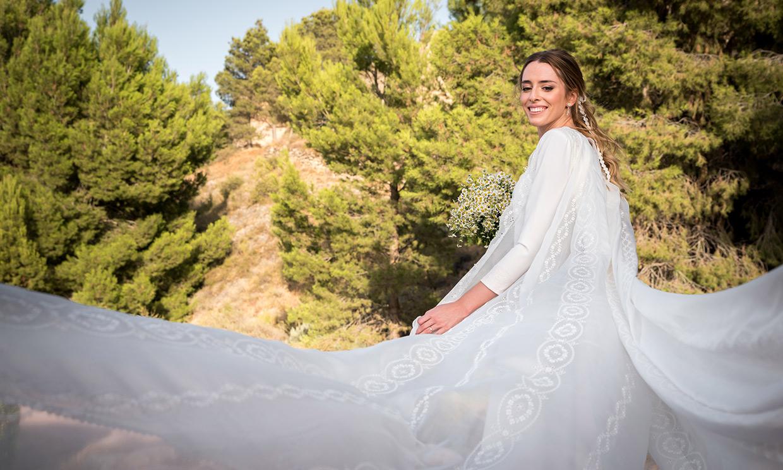 María, la novia del chaleco bordado que se casó con su primer amor