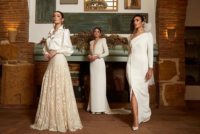 ¿Qué tejidos son los mejores para un vestido de novia de primavera?