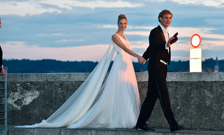 Vestidos de novia de corte griego con los que casarte a lo Beatrice Borromeo