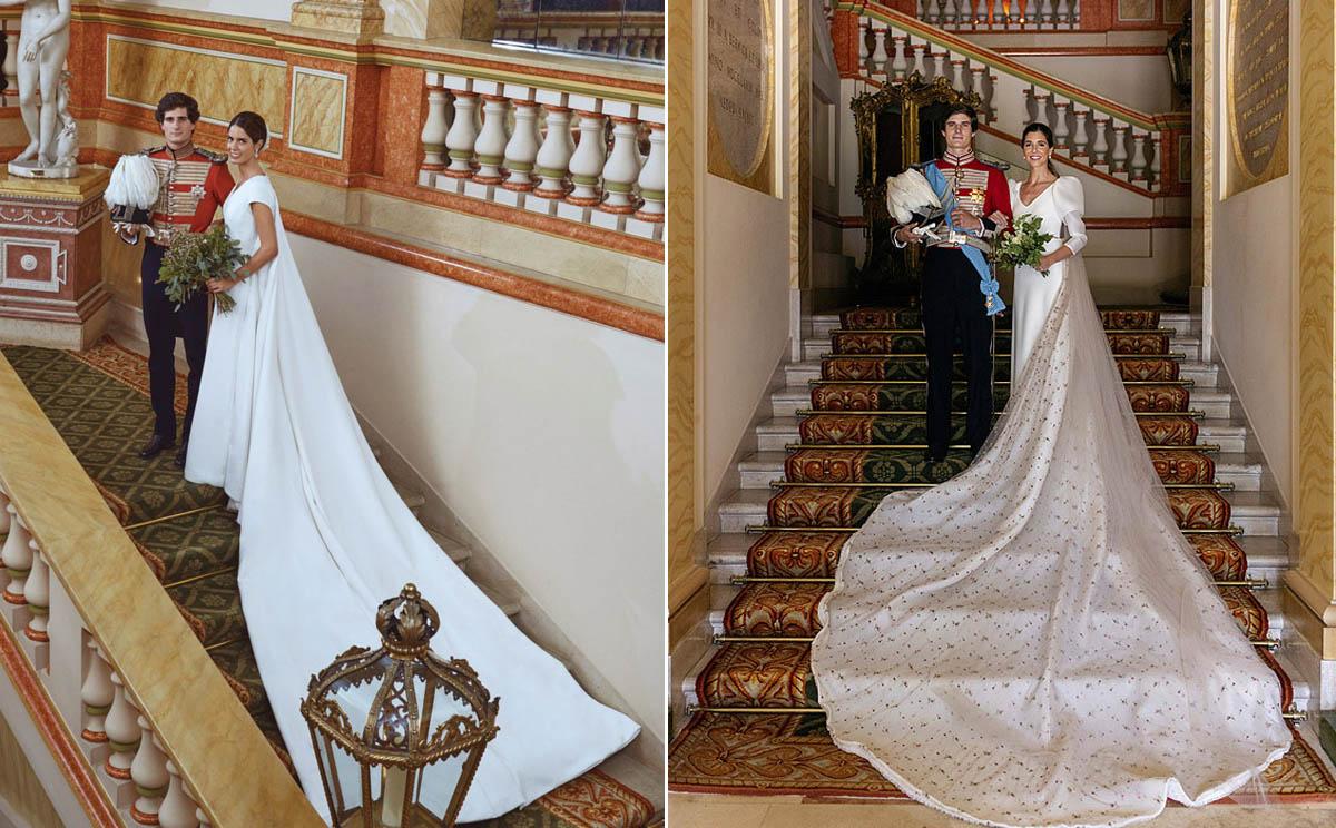 Sofía Palazuelo y Belén Corsini: las dos novias sin tiara de la Casa Alba