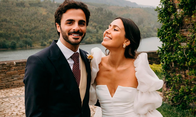 La boda de Anita da Costa, la 'influencer' portuguesa que convirtió su vestido en fenómeno viral
