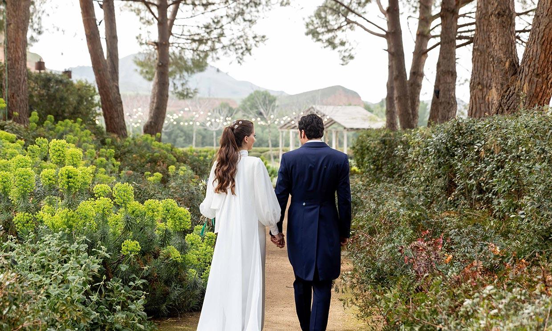 La historia de Sofía, la novia del vestido sencillo que se casó en Madrid