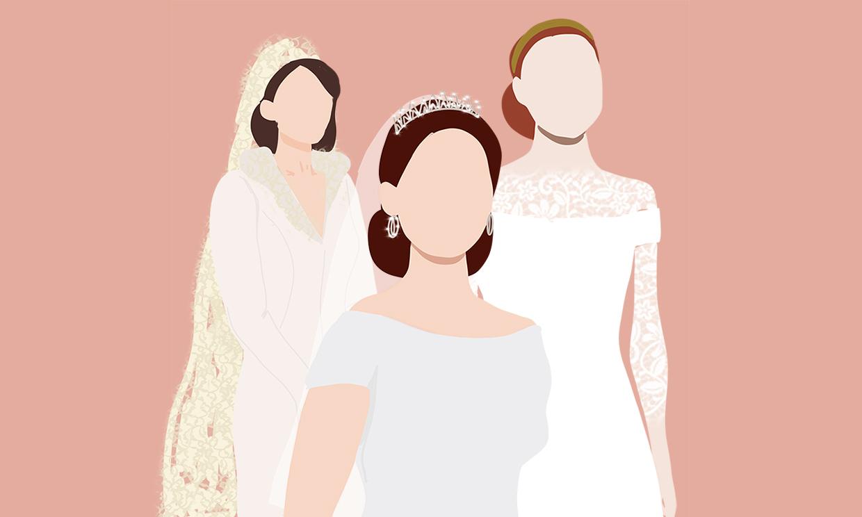 Cinco tendencias 'royal' que son eternas en los vestidos de novia