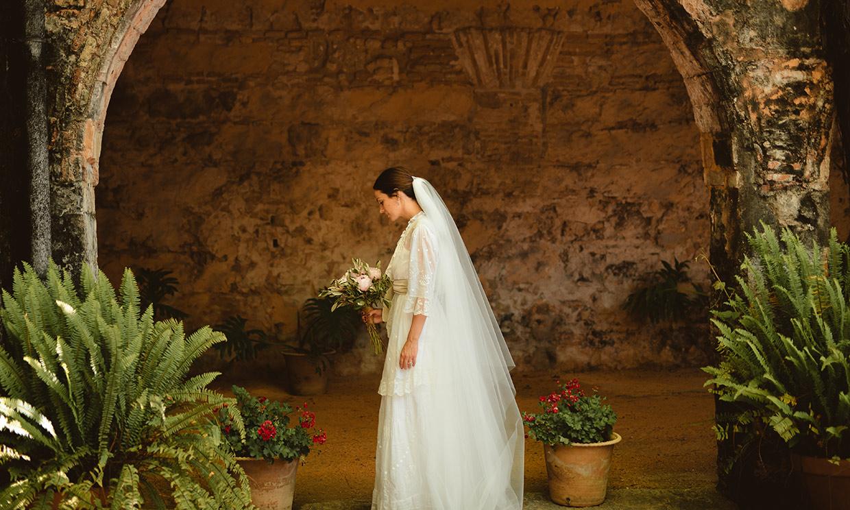 Lucía, la novia 'vintage' que se casó en Jerez de la Frontera