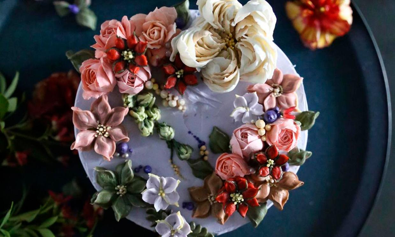 Las tartas de boda de la temporada son románticas y muy apetecibles