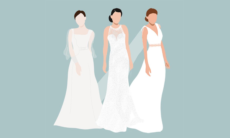 Hay un look de novia perfecto según el lugar donde celebres tu boda