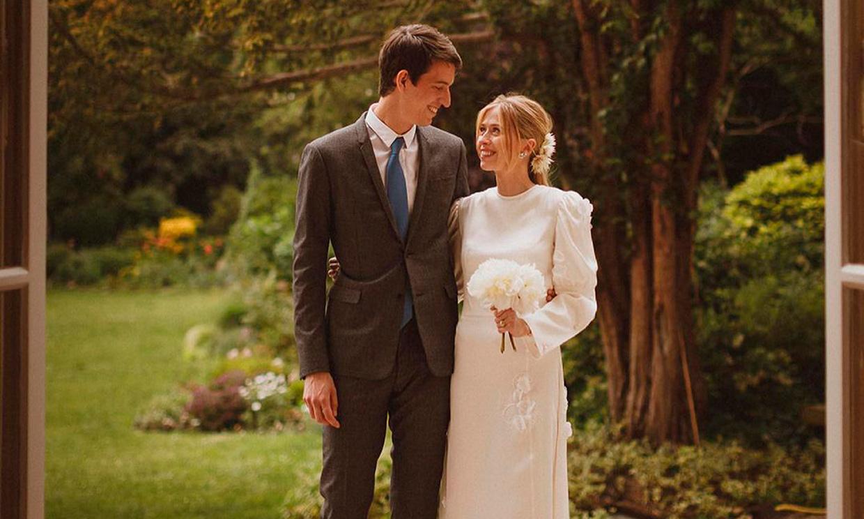 ¡Muy francés! El look de la 'influencer' Géraldine Guyot en su boda con Alexandre Arnault