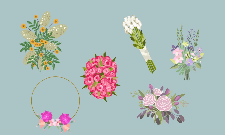 Un ramo, una novia: elige las flores que mejor van con tu estilo