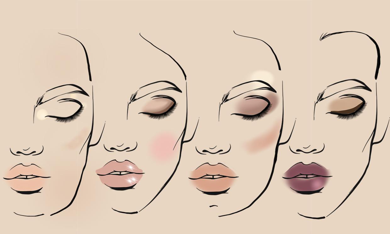Hay un maquillaje de novia ideal según tu tipo de rostro
