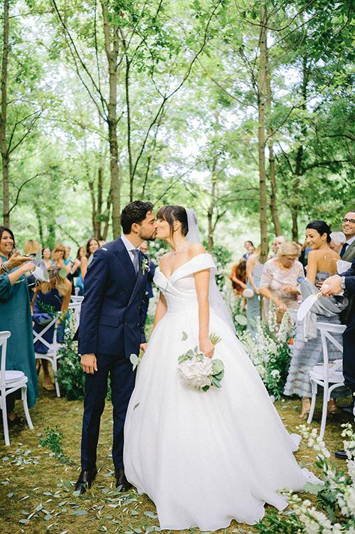 Mariage à Parme, Italie
