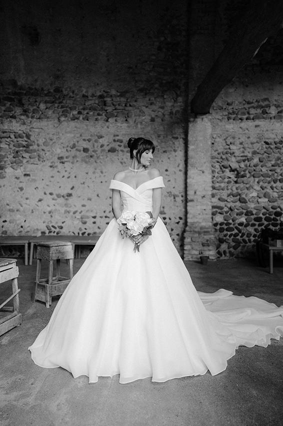 Robe de mariée princesse Carlotta Rubaltelli