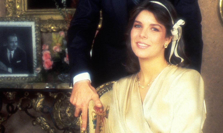 Dónde encontrar el 'pale wrap dress', el otro vestido de novia de Carolina de Mónaco