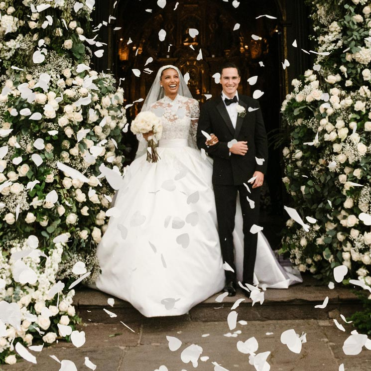 La espectacular boda de Jasmine Tookes en Ecuador con un vestido de novia inspirado en Grace Kelly