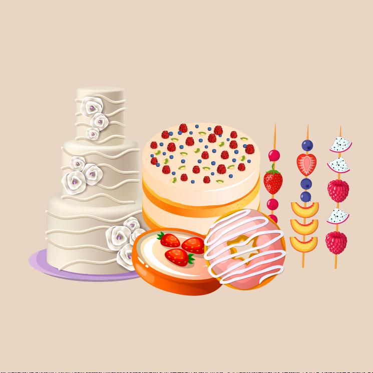 Los postres más deliciosos y especiales para cada tipo de boda