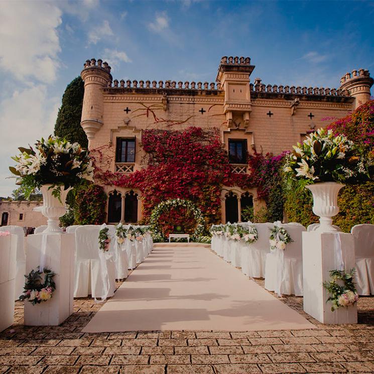 ¡Una boda de cuento! Castillos y palacios en los que casarte en España